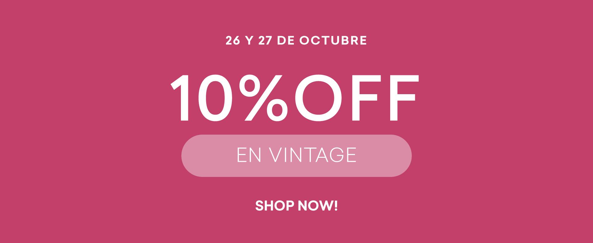 10%OFF Vintage