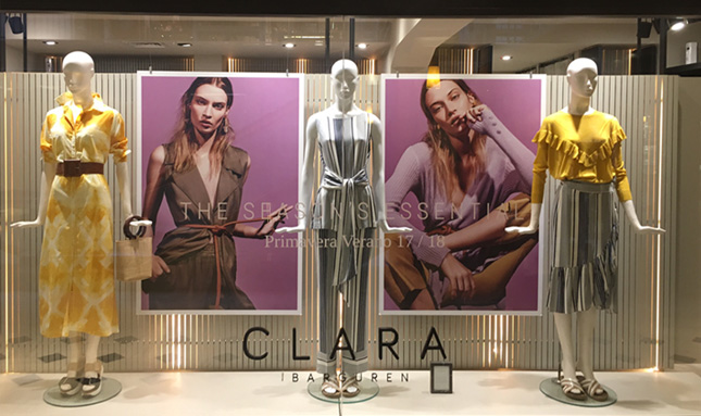 Clara Ibarguren - 2016 - Vidrieras icónicas